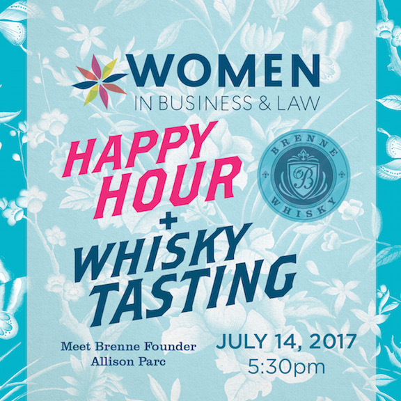 Women in Business & Law Happy Hour/Whisky Tasting