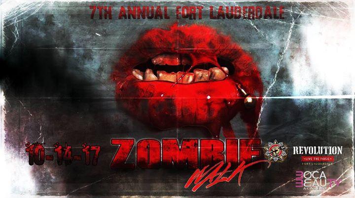Fort Lauderdale Zombie Walk 2017