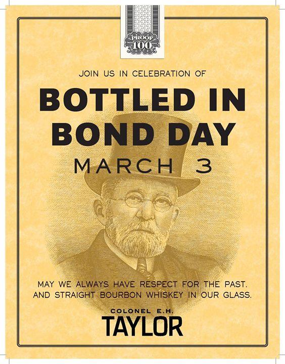 Bottled in Bond Day
