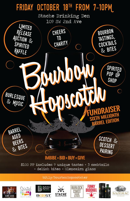 Bourbon Hopscotch: Sixth Millionth Barrel Edition Charity Event